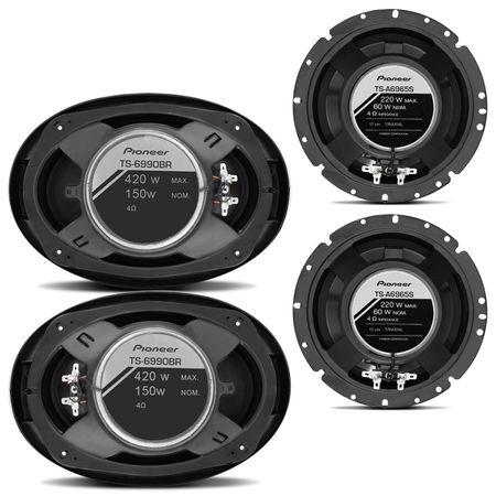 Kit-Facil-Pioneer-420W-RMS-Par-Alto-Falante-6x9-TS6990BR---Par-6-Polegadas-TS-1790BR-Connect-Parts--1-