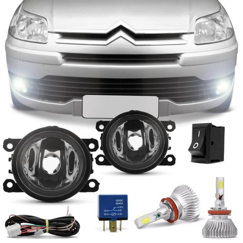 Kit-Farol-de-Milha-Citroen-C4-Hatch-C4-Pallas-2007a2012-C4-VTR-2007-a-2010-Kit-Super-LED-3D-H11-6000-Connect-Parts--1-