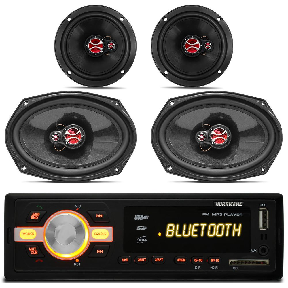 ba90ddd8559 Semana do Som Automotivo. MP3-Player-Hurricane-HR420-BT-Bluetooth-USB-SD ...
