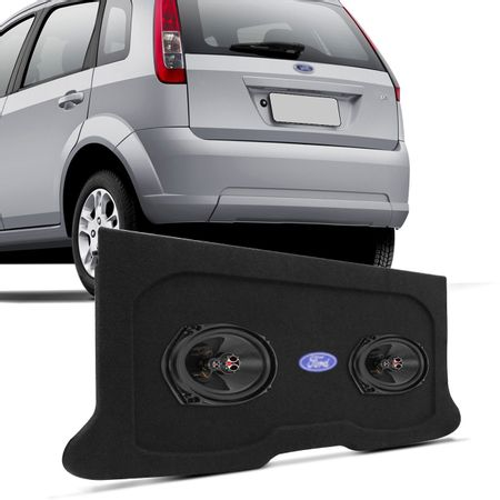 Tampao-Porta-Malas-Ford-Fiesta-Hatch-2003-a-2011-Carpete-Grafite---6X9-Foxer-100w-connect-parts--1-