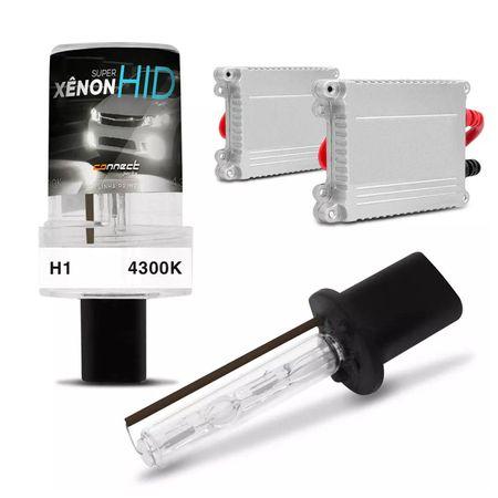 Kit-Xenon-Completo-H1-4300K-Tonalidade-Branca-connectparts--1-