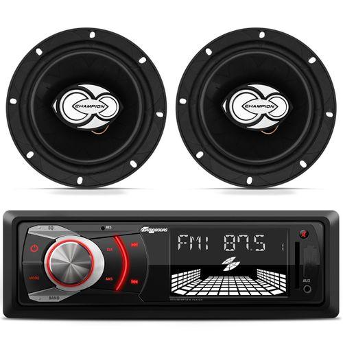 MP3-Player-MTC6608-USB-SD-FM-AUX---Alto-Falante-Champion-TRX-500-6-Polegadas-100W-RMS-Connect-Parts--1-