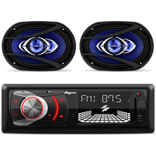 MP3-Player-MTC6608-USB-SD-FM-AUX---Alto-Falante-Hurricane-Class-6x9-Polegadas-180W-RMS-connect-parts--1-
