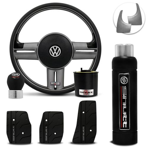 Volante-Shutt-Rallye-Grafite-Extreme-Cubo-Gol-Parati-Golf-Linha-VW--kit-Black-Connect-Parts--1-