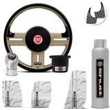 Volante-Shutt-Rallye-Bege-RS-Cubo-Uno-Tempra-Elba-Fiorino---kit-Silver-Connect-Parts--1-