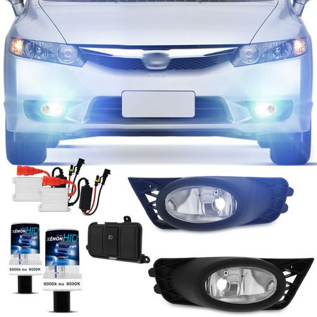 Kit-Farol-Milha-New-Civic-2009-2010-2011-Auxiliar-Neblina---Xenon-6000K-Connect-Parts--1-