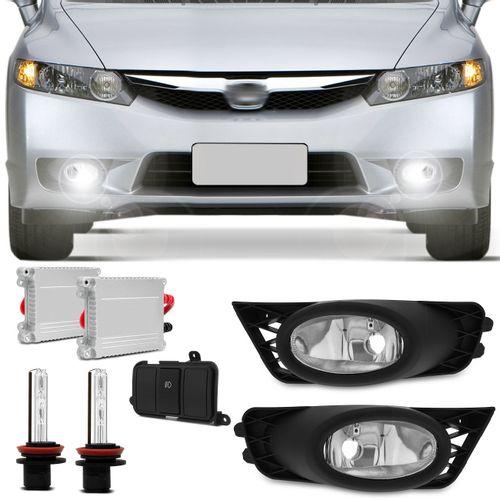 Kit-Farol-Milha-New-Civic-2009-2010-2011-Auxiliar-Neblina---New-Xenon-4300K-Connect-Parts--1-