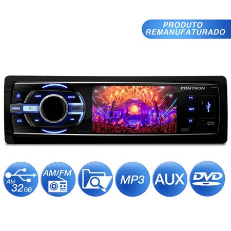 Dvd-Player-Automotivo-Positron-Sp4211Av-Tela-3-Polegada-Mp3-Usb-Aux-Rca-connectparts--1-