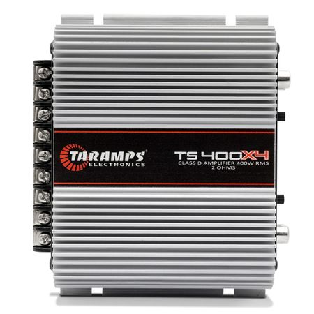 Kit-Modulo-Taramps-TS400-400W-RMS-2-Ohms---Modulo-Taramps-HD5000-5000W-RMS-2-Ohms-1-Canal-Connect-Parts--1-