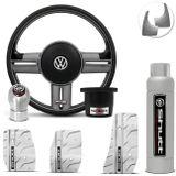 Volante-Shutt-Rallye-Grafite-Extreme-Cubo-Fusca-Voyage-Todos-VW---kit-Silver-Connect-Parts--1-