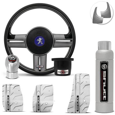 Volante-Shutt-Rallye-Grafite-Extreme-Cubo-Peugeot-206-306-207---kit-Silver-Connect-Parts--1-