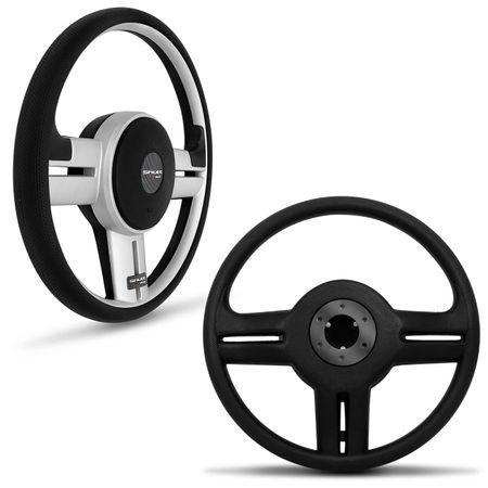 Volante-Shutt-Rallye-Prata-Xtreme-Cubo-Escort-Logus-1993-a-1998--kit-Black-connect-parts--1-