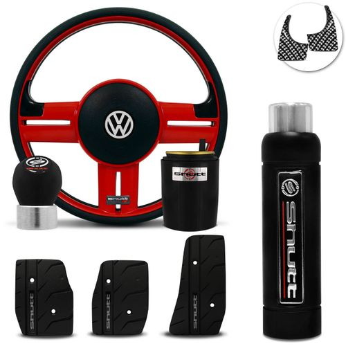 Volante-Shutt-Rallye-Vermelho-RS-Cubo-Gol-Fox-Golf-Polo-Linha-VW--kit-Black-Connect-Parts--1-