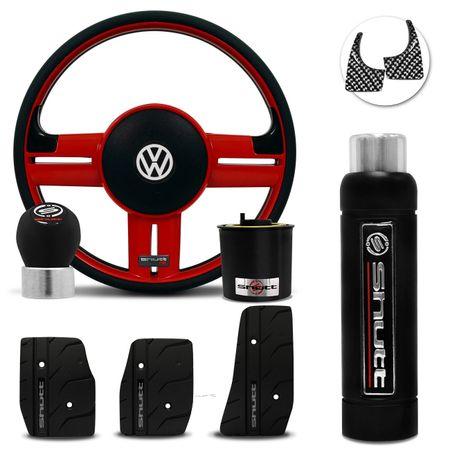 Volante-Shutt-Rallye-Vermelho-RS-Cubo-Gol-Parati-Golf-Linha-VW--kit-Black-connect-parts--1-
