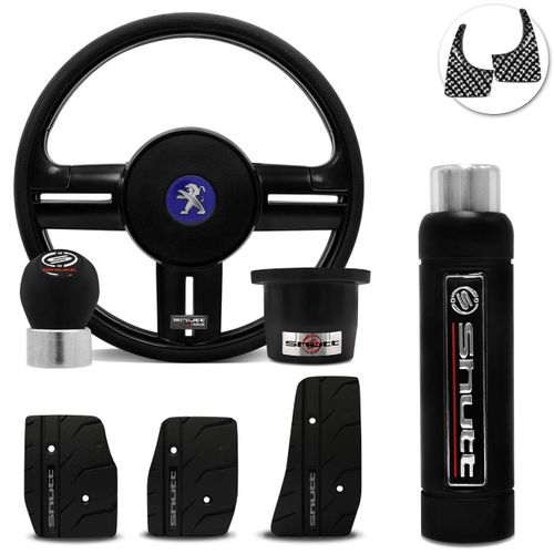 Volante-Shutt-Rallye-Black-Piano-Xtreme-Cubo-Peugeot-206-306-207--kit-Black-Connect-Parts--1-