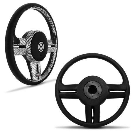 Volante-Shutt-Rallye-Carbon-Fusca-Brasilia-Passat-50-a-76---Pedaleira-Manopla-Cambio-Freio-Mao-Preta-Connect-Parts--1-