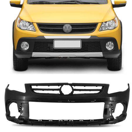 Para-Choque-Dianteiro-Saveiro-Cross-G5-Gol-Rallyer-2009-2010-2011-2012-Preto-Com-Furo-Milha-connectparts--1-