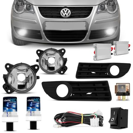 Kit-Farol-de-Milha-Polo-Hatch-Sedan-2007-2008-2009-2010-2011-Auxiliar-Neblina---Xenon-6000K-connect-parts--1-