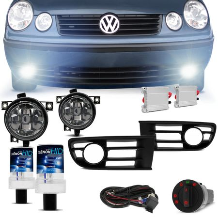Kit-Farol-Milha-Polo-Hatch-Sedan-03-04-05-06-Neblina-Auxiliar---Xenon-6000K-Connect-Parts--1-