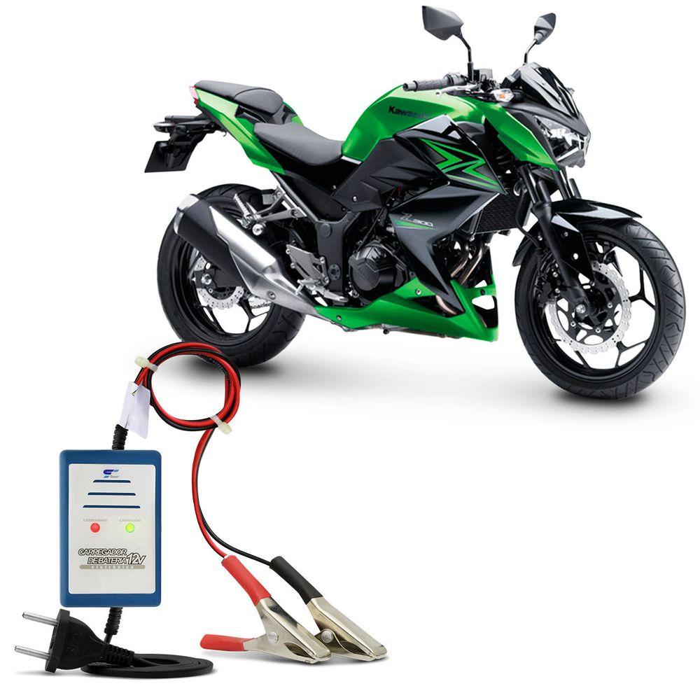 2e8465f4a6 Carregador de Bateria Automático 12V 2A 24W CB-02AL Bivolt para Moto não  Precisa Desligar