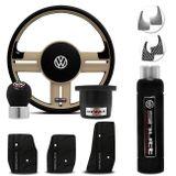 Volante-Shutt-Rallye-Surf-Bege-RS-Cubo-Fusca-Voyage-Passat-VW--kit-Black-connect-parts--1-