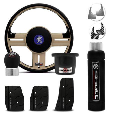 Volante-Shutt-Rallye-Surf-Bege-RS-Cubo-Peugeot-206-306-207--kit-Black-Connect-Parts--1-
