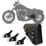 Alforge-Solo-Lat-de-Balanca-Bolsa-Custom-Couro-Preto-4-Ltr-Harley-Davidson-Sportster-883-JA-Marrom-connectparts--1-