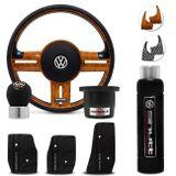 Volante-Shutt-Surf-Madeira-GTR-Cubo-Fusca-Voyage-Passat-VW--kit-Black-connect-parts--1-
