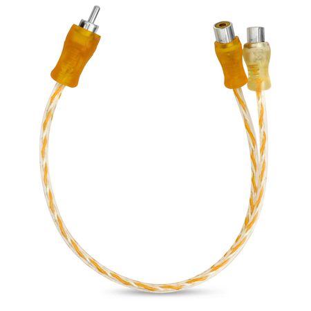 Cabo-Y-Injetado-Laranja-Prata-Transparente-4Mm-2-Femeas-E-1-connectparts--1-