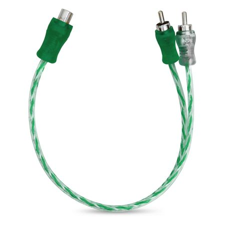 Cabo-Y-Injetado-Verde-Prata-Transparente-4Mm-2-Machos-E-1-Fe-connectparts--1-