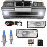 Kit-Farol-de-Milha-BMW-Serie-3-Hatch-Sedan-Coupe-M3-92-a-98---Par-Lampada-Multilaser-H1-5000K-Connect-Parts--1-