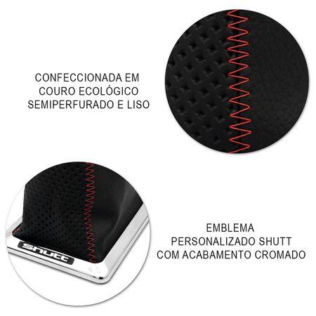 Coifa-Cambio-Shutt-Gol-G1-Parati-Saveiro-87-A-94-Semiperfurada-Preta-Costura-Vermelha-Base-Cromada-connectparts--4-