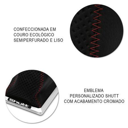 Coifa-Cambio-Shutt-Gol-Voyage-Saveiro-Gl-Gts-87-A-94-Semiperfurada-Preta-Costura-Vermelha-Cromada-connectparts--4-
