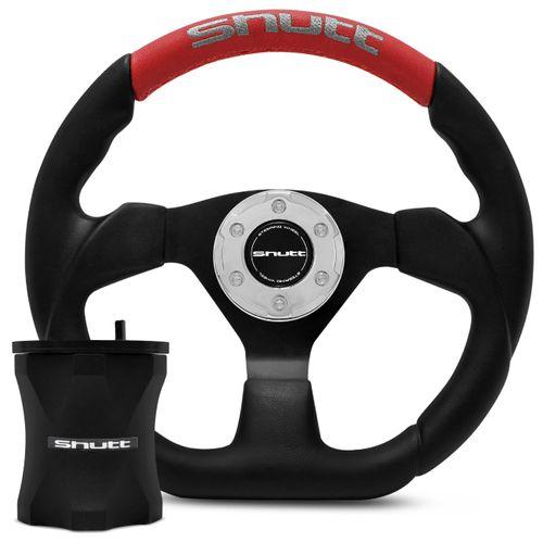 Kit-Volante-Esportivo-Shutt-SRRB-Fusca-Preto-Vermelho-com-Cubo-em-Aluminio-e-Acionador-de-Buzina--1-