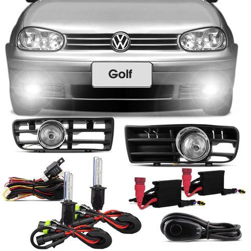 Kit-Farol-Milha-Golf-1999-2000-2001-2002-2003-2004-2005-2006-Sapao---Kit-Xenon-6000K-connect-parts--1-