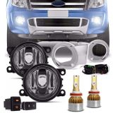 Kit-Farol-Milha-Ranger-12-a-15-Aro-Cromado-Botao-Similar---Par-Ultra-LED-Full-H11-6000K-25W-8000LM-connect-parts--1-