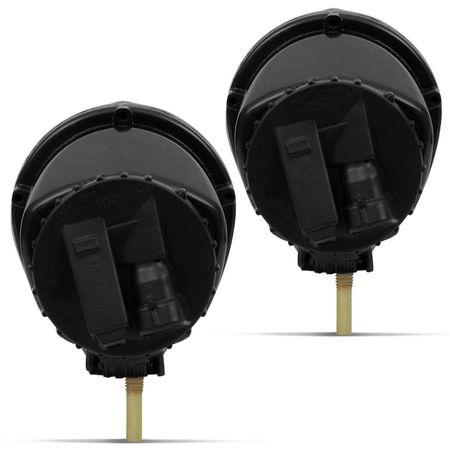 Kit-Farol-Milha-Uno-Way-Attractive-10-a-17-Fiorino-14-a-17---Par-Lampadas-Super-LED-H1-6000K-6400LM-Connect-Parts--3-