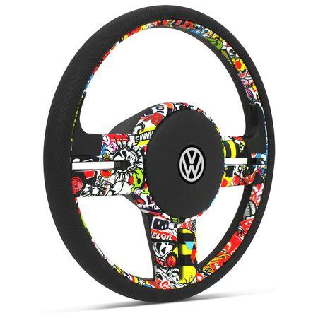 Volante-Esportivo-Rallye-Bomber-Stick---Cubo-Fusca-Voyage-Kombi-Gol-G1-Passat-Brasilia-Connect-Parts--1-