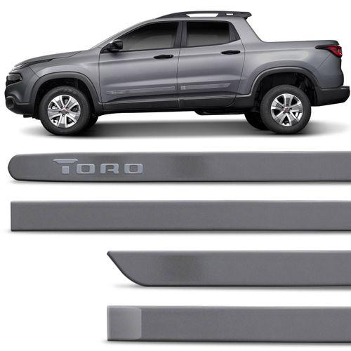 Jogo-Friso-Lateral-Fiat-Toro-2016-a-2018-Cinza-Antique-4-Pecas-connectparts--1-
