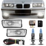 Kit-Farol-de-Milha-BMW-Serie-3-Hatch-Sedan-Coupe-M3-92-a-98---Par-Lampadas-Osram-H1-4200K-connect-parts--1-