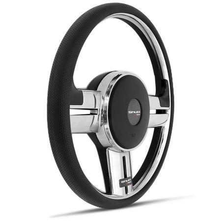 Kit-Volante-Shutt-Rallye-Slim-Cromado-Xtreme-Santana-Aplique-Preto-Prata-Escovado-Cubo-Aluminio-connect-parts--1-