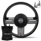 Kit-Volante-Shutt-Rallye-Slim-Grafite-Xtreme-Saveiro-94-a-14-Aplique-Escovado-Cubo-Aluminio-connect-parts--1-