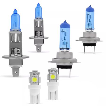 Kit-Par-Lampadas-Super-Brancas-H1-H7-8500K---Par-de-Lampadas-Pingo-T10-Efeito-Xenon-Connect-Parts--1-
