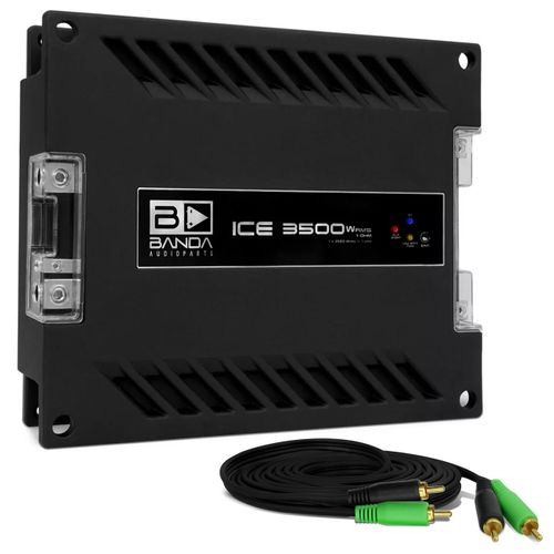 Modulo-Amplificador-Banda-Ice-3501-3500W-RMS-1-Canal-1-Ohm---Cabo-RCA-4mm-5-Metros-connect-parts--1-