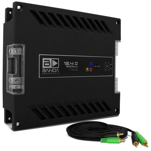 Modulo-Amplificador-Banda-1200.4-1200W-RMS-1-Ohm-4-Canais---Cabo-RCA-4mm-5-Metros-connect-parts--1-