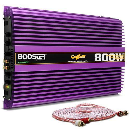 Modulo-Amplificador-Booster-BA-610GX-800W-RMS-2-Ohms-4-Canais---Cabo-RCA-Stetsom-5m-connect-parts--1-