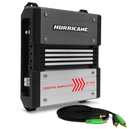 Modulo-Amplificador-Hurricane-H-1.8K-1800W-RMS-1-Canal-2-Ohms---Cabo-RCA-4mm-5-Metros-connect-parts--1-