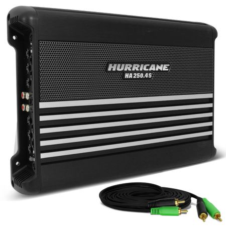 Modulo-Amplificador-Hurricane-HA-250.4S-1000W-RMS-4-Canais-2-Ohms---Cabo-RCA-4mm-5-Metros-connect-parts--1-