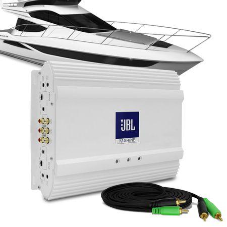 Modulo-Amplificador-JBL-Selenium-MA604-Marine-320W-RMS-4-Canais-2-Ohms---Cabo-RCA-4mm-5-Metros-connect-parts--1-