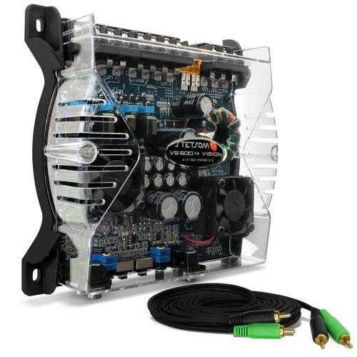 Modulo-Amplificador-Stetsom-VS600.4-600W-RMS-4-Canais-2-Ohms---Cabo-RCA-4mm-5-Metros-connect-parts--1-